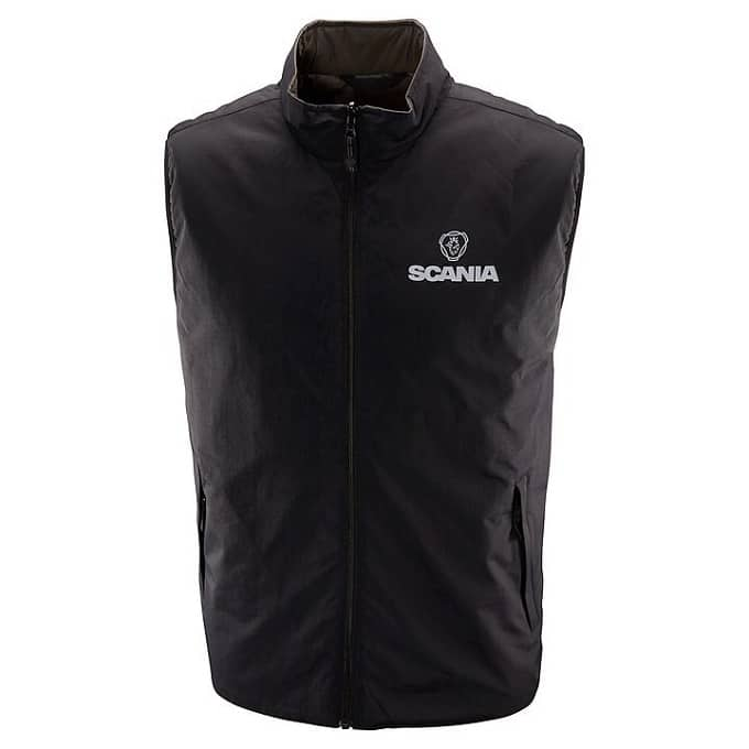 SCANIA REVERSIBLE SLEEVELESS JACKET