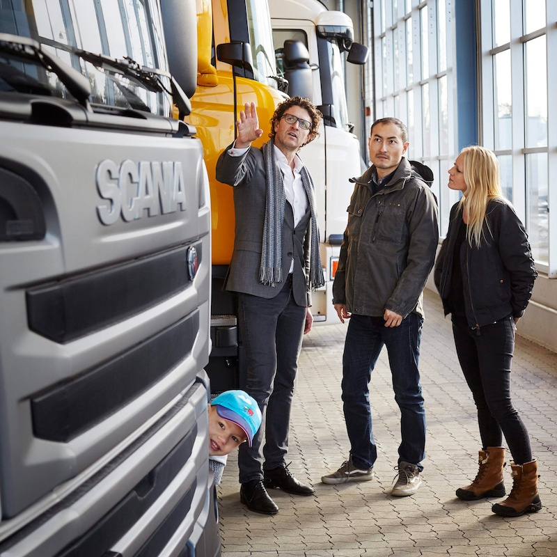 Scania Financial Services exist to help your business grow
