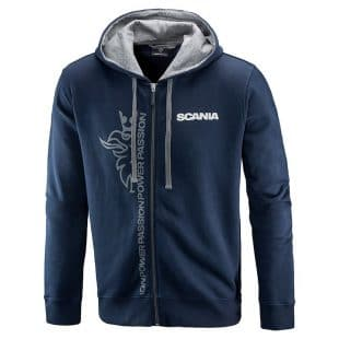 Scania Griffin Zipped Hoodie