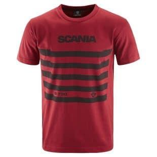SCANIA MENS Grille tshirt red