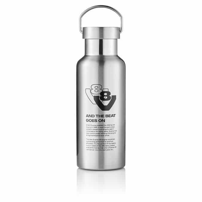 SCANIA V8 Steel flask