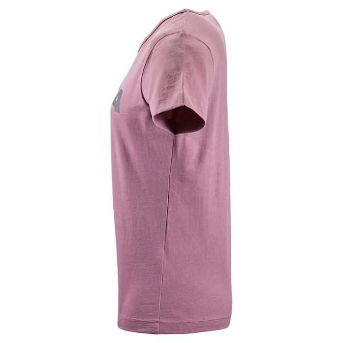 womens scania vintage pink tshirt side