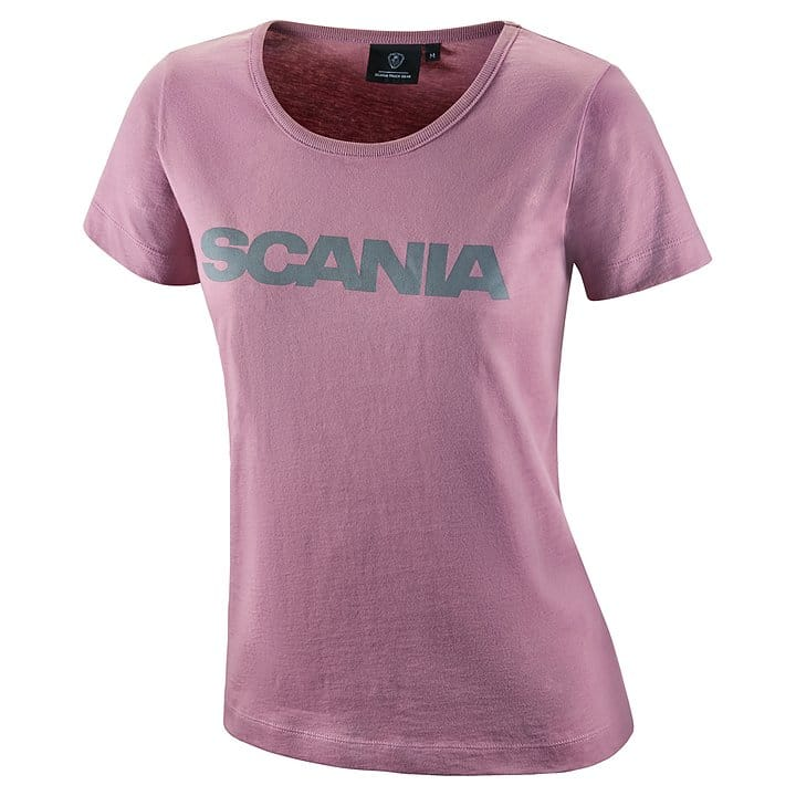 WOMENS SCANIA VINTAGE PINK T-SHIRT