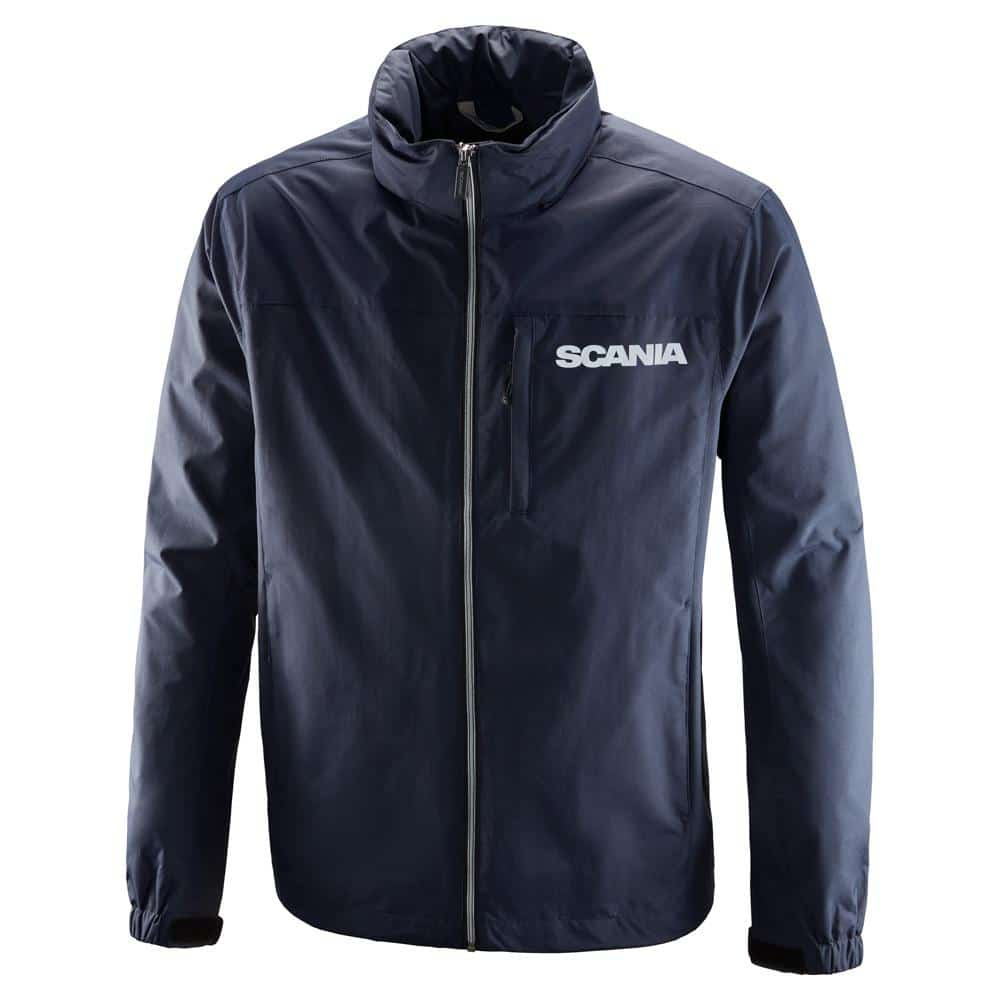 SCANIA MENS STORM JACKET NAVY