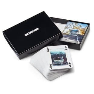 Scania Playing Cards