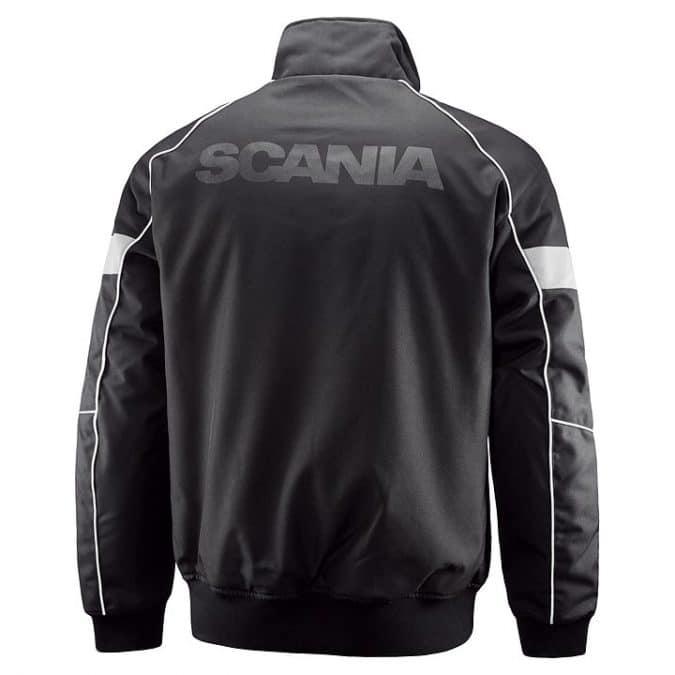Scania Black Truck Jacket back