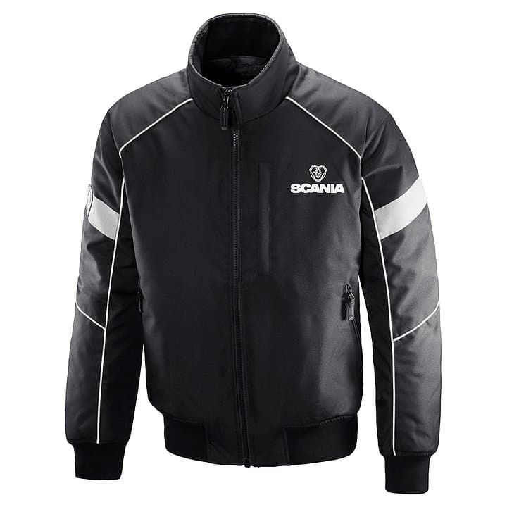 SCANIA BLACK TRUCK JACKET
