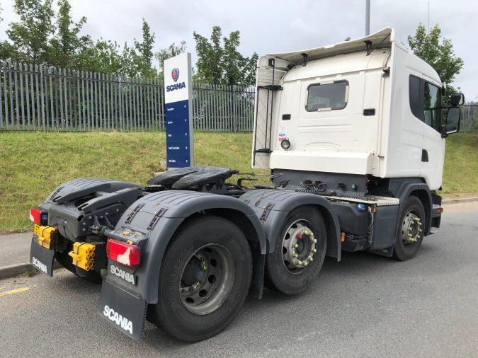 Scania G 450 Rear