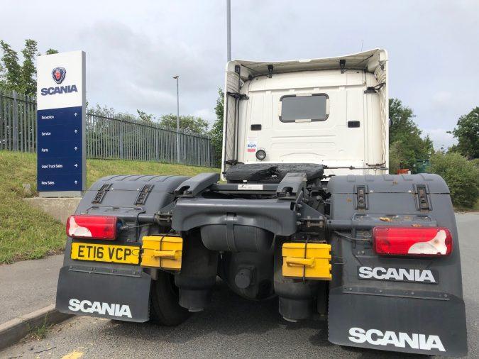 Scania G 450 rear end