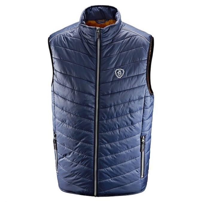 scania Sleeveless Blue insulation jacket