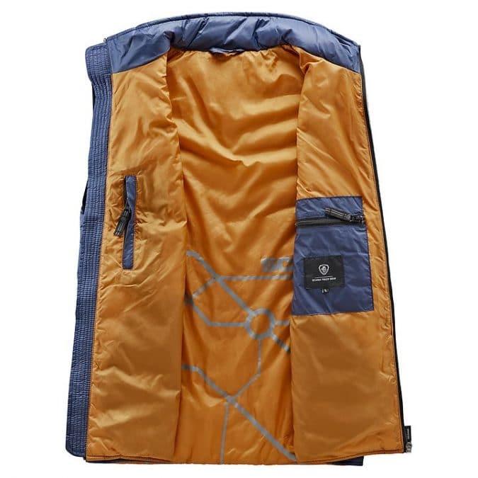 scania Sleeveless Blue insulation jacket inside