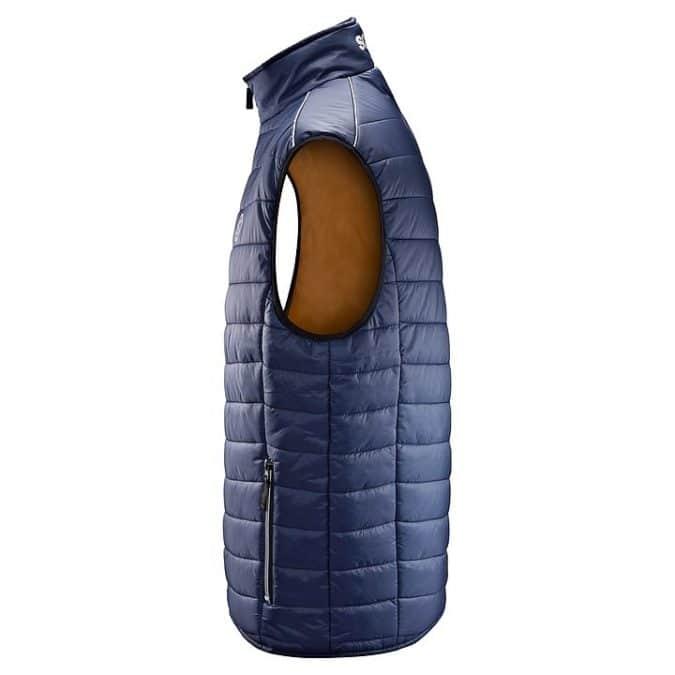 scania Sleeveless Blue insulation jacket side