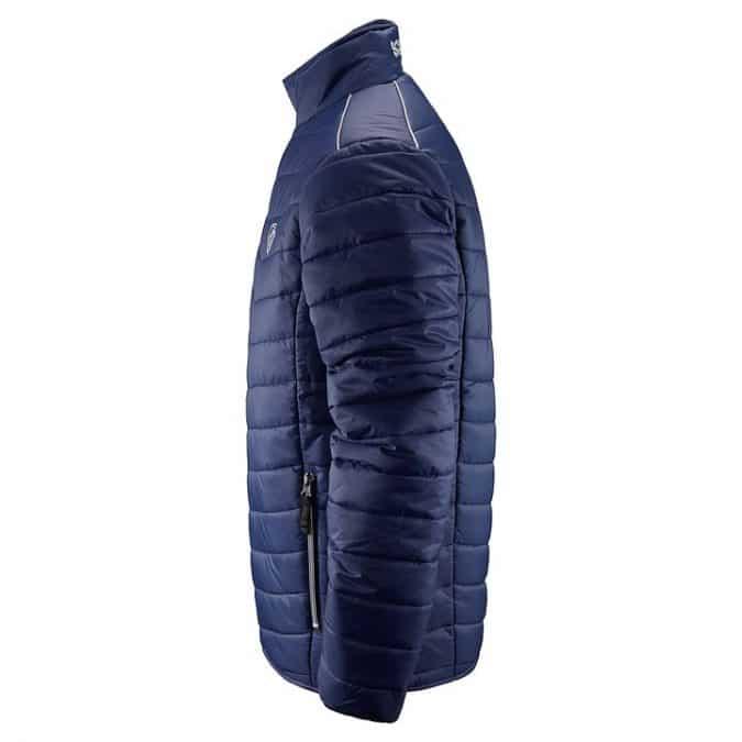 scania mens insulation blue jacket side