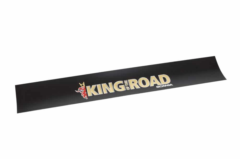 KING OF THE ROAD MUDFLAP