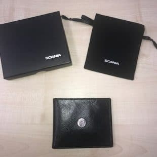 Scania Leather Wallet