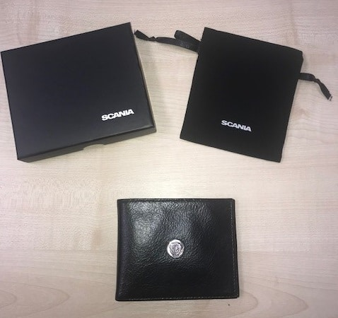 CLASSIC SCANIA LEATHER WALLET