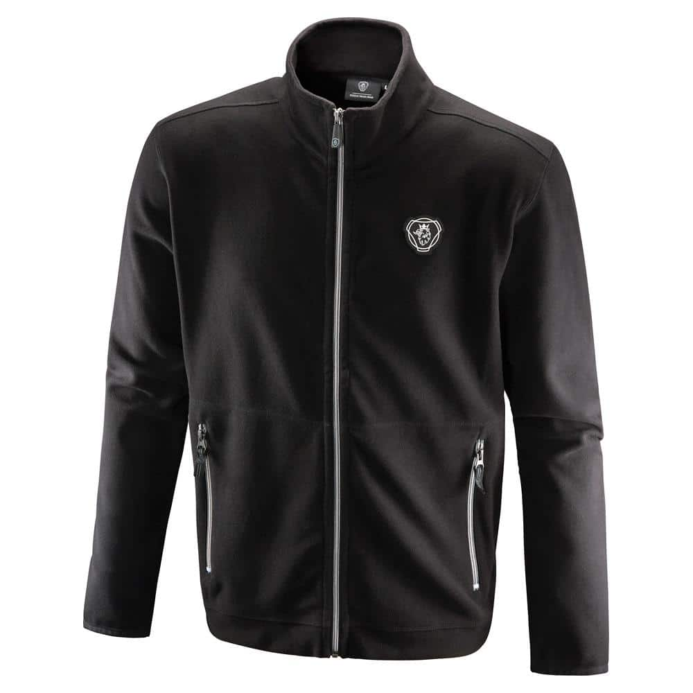 SCANIA BLACK FLEECE JACKET