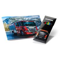 SCANIA COLOURING BOOK