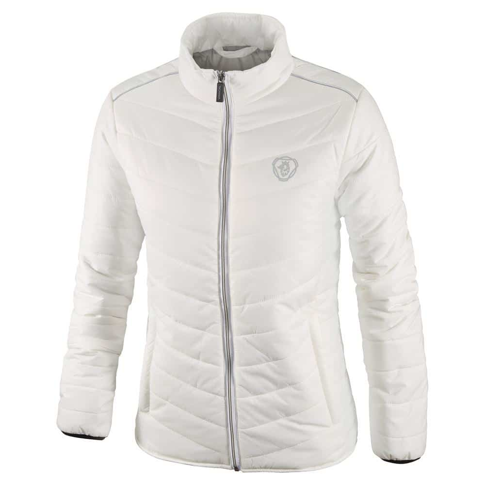 WOMENS SCANIA WHITE INSULATION JACKET