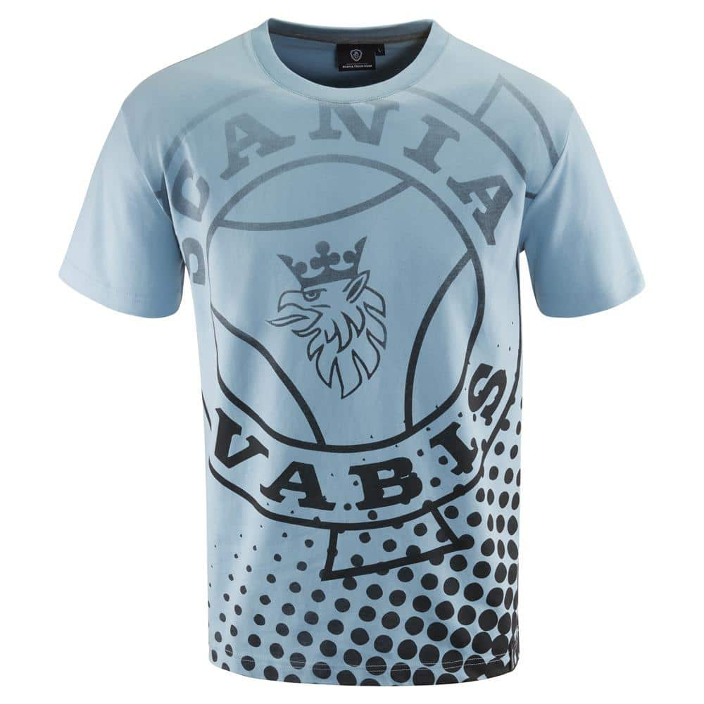 MENS BLUE VABIS T-SHIRT
