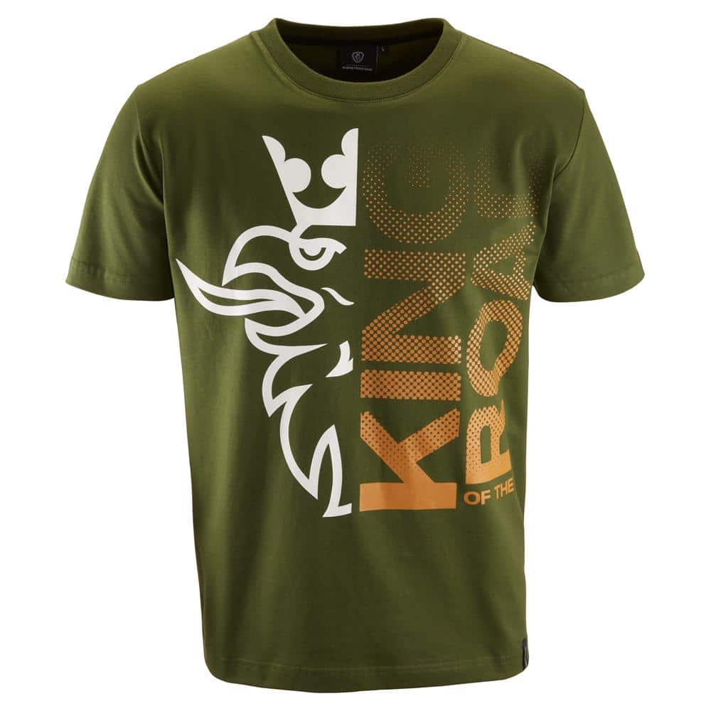 KING OF THE ROAD GREEN T-SHIRT