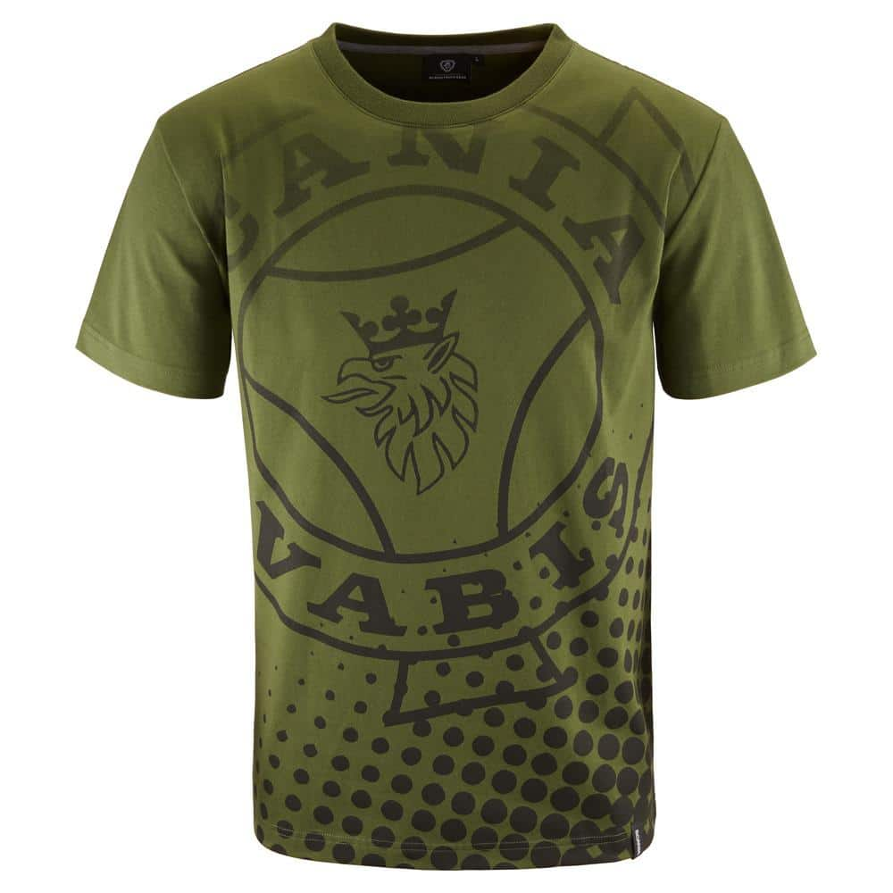 MENS GREEN VABIS T-SHIRT