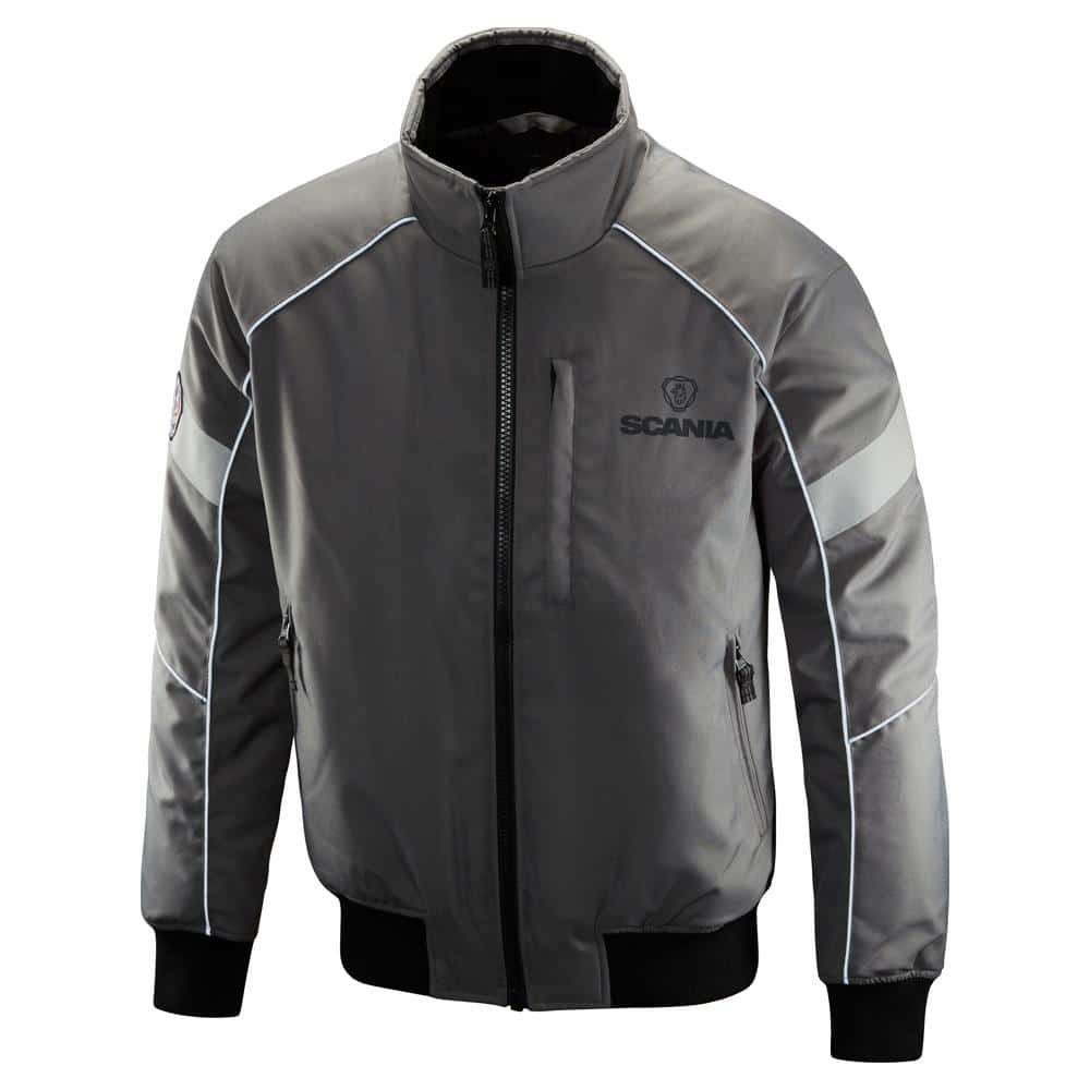 SCANIA GREY TRUCK JACKET
