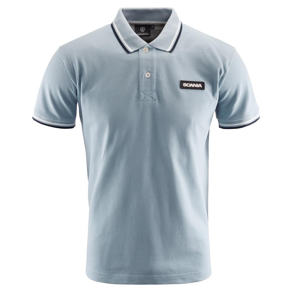 SCANIA MEN'S BLUE POLO